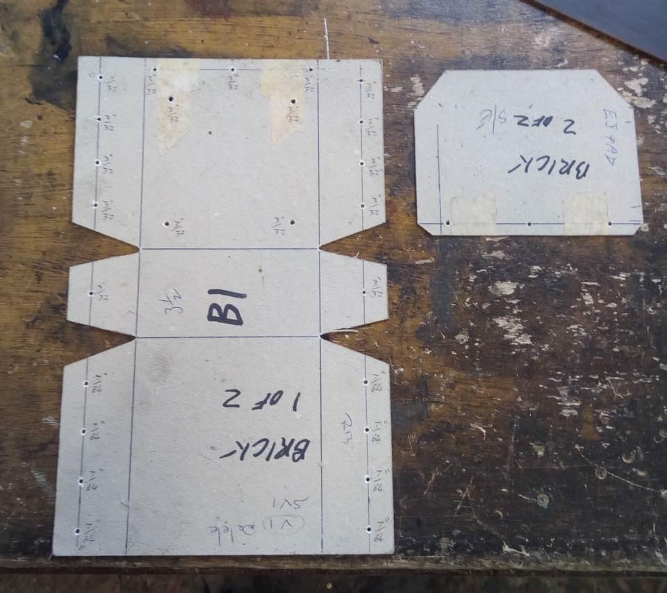 Brick Pouch Pattern