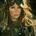 Post Apocalyptic Warrior Woman