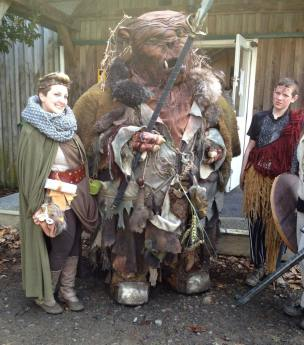 A Wild Larp Troll Appeared! at The Crucible in New Zealand
