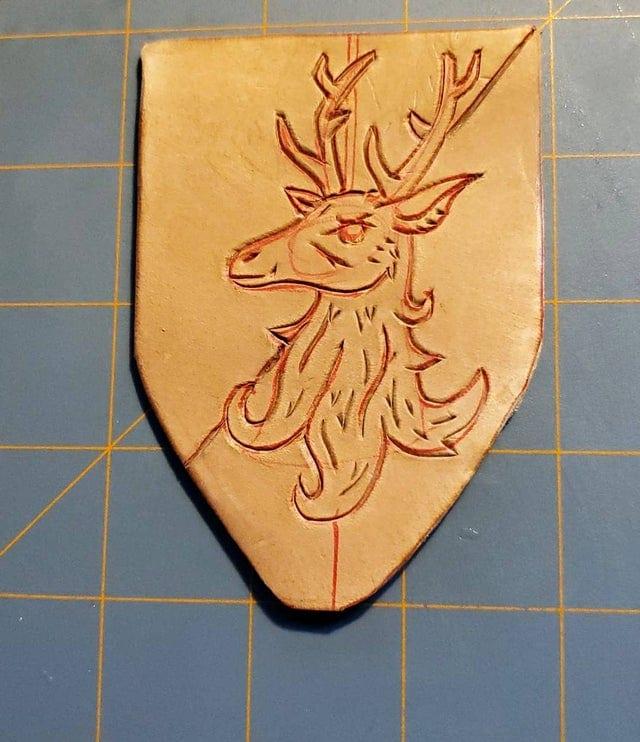 Deer Leather Badge Beginning