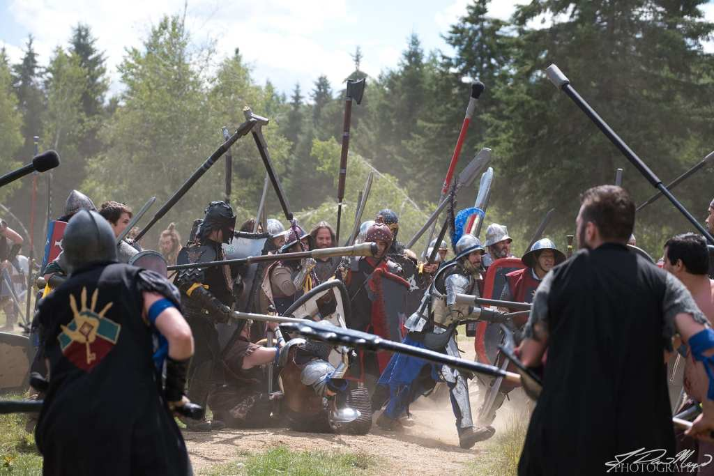 Intense Larp Battle