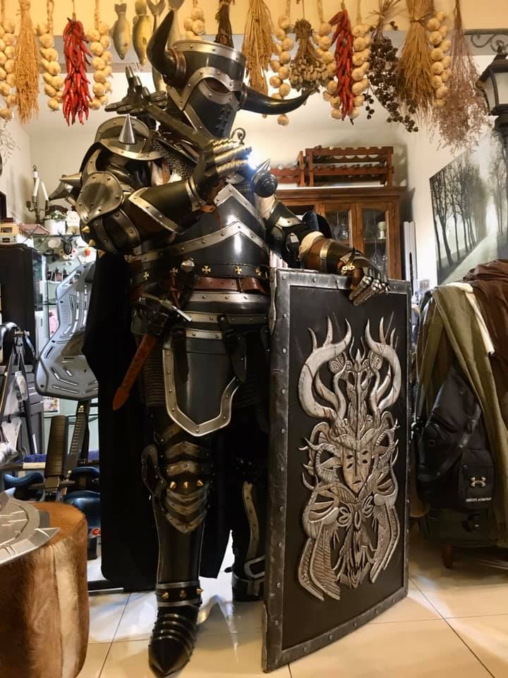 Black And Silver Knight