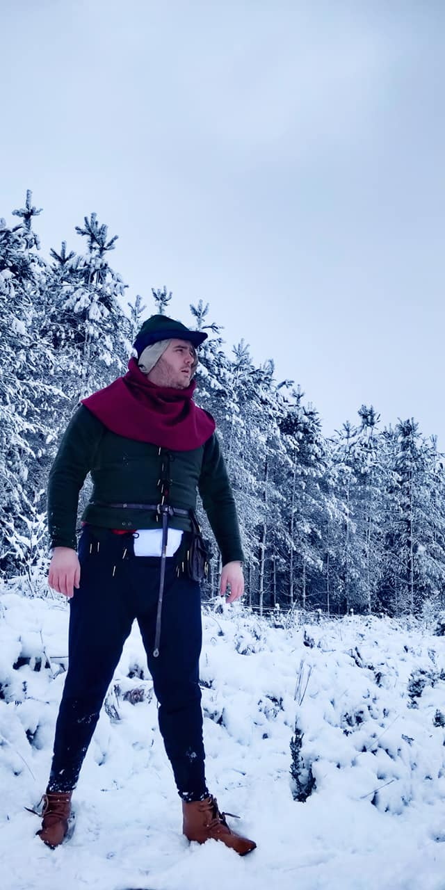 Larper In The Snow