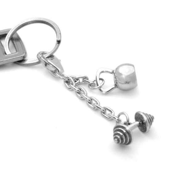 Брелок на ключи штангиста