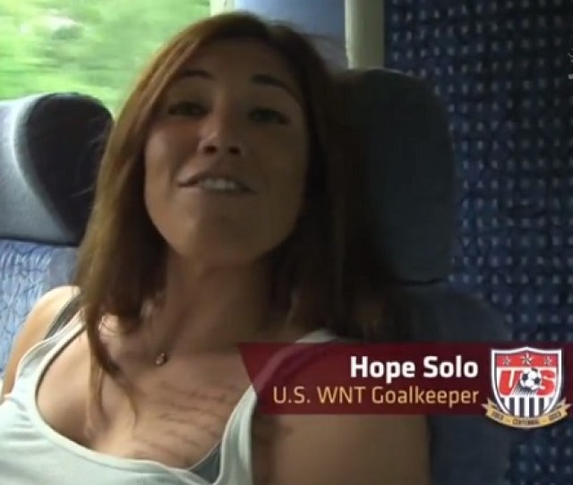 Hope Solo Chest Tattoo