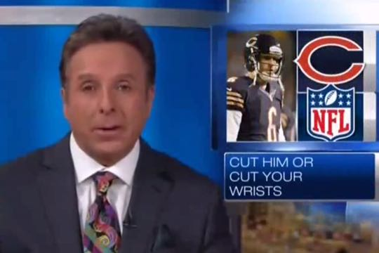 Chicago News Station To Bears Cut Jay Cutler Or Cut Your