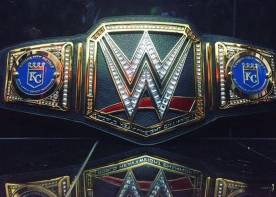 Triple H Sent Royals Custom WWE Championship Belt Larry