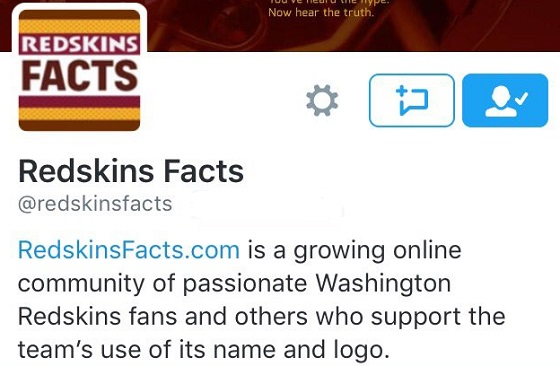Redskins Outed For Running Fan Twitter Account Details Rucuss