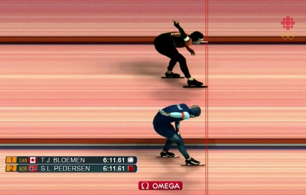 Speedskaters have medal decided by incredible photo finish ...
