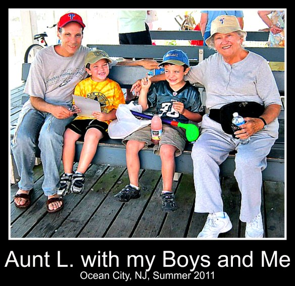 Aunt L. is about love.