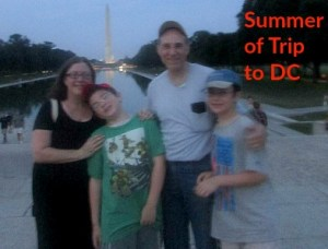 Summer of Trip to DC