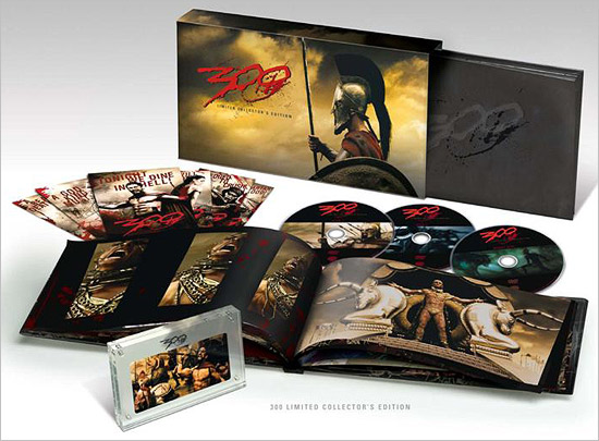 300 Limited Collectors Edition DVD Just Announced
