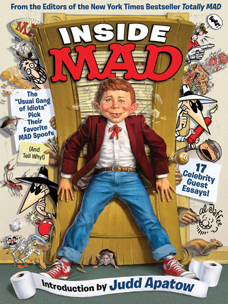 Inside MAD Features An Intricate Pullout Poster By Sergio ...