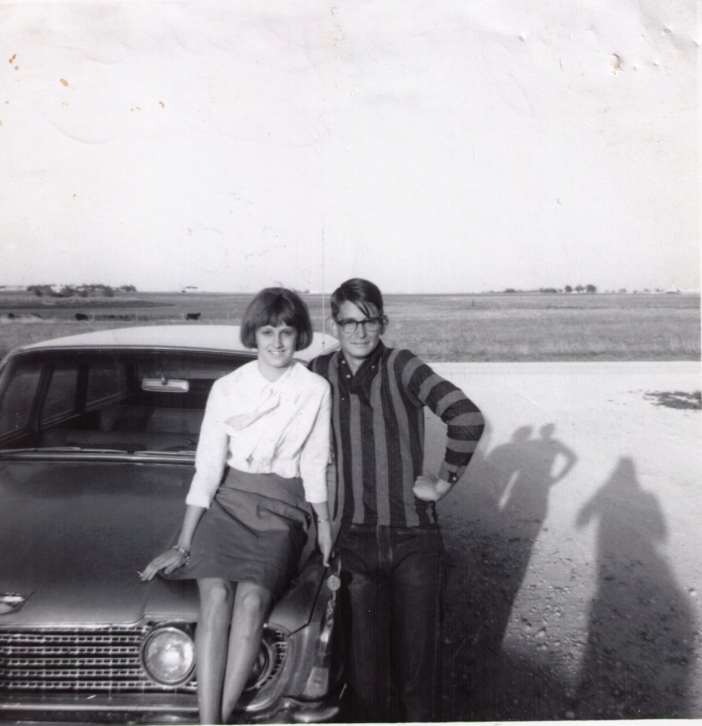 1960 Ford Wagon Martha Echols & Larry