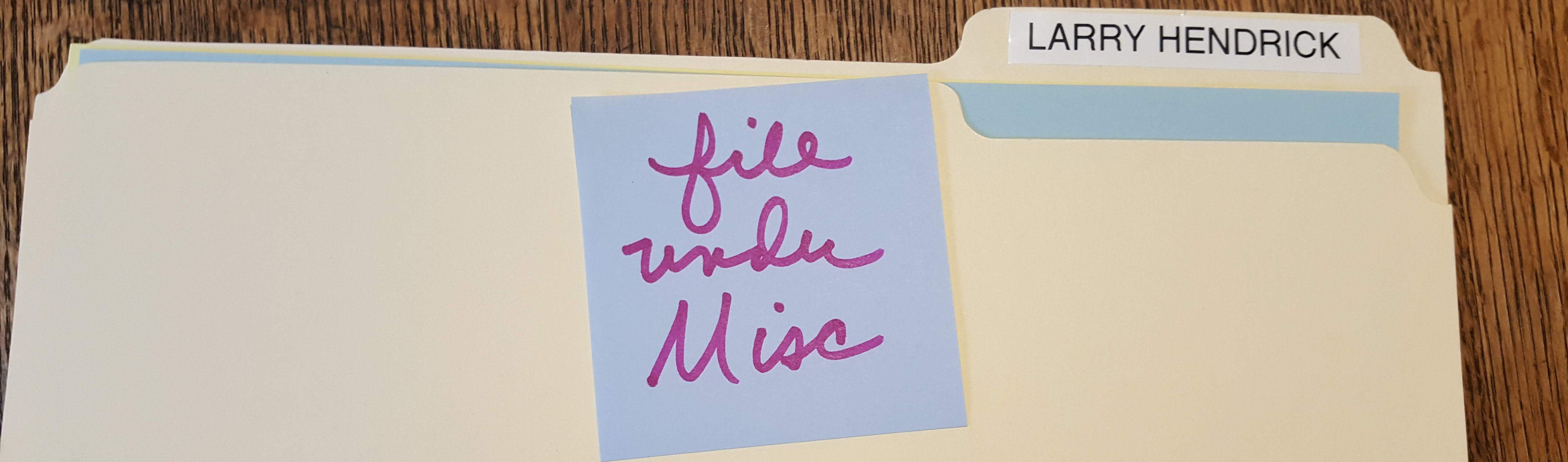 File Under Misc