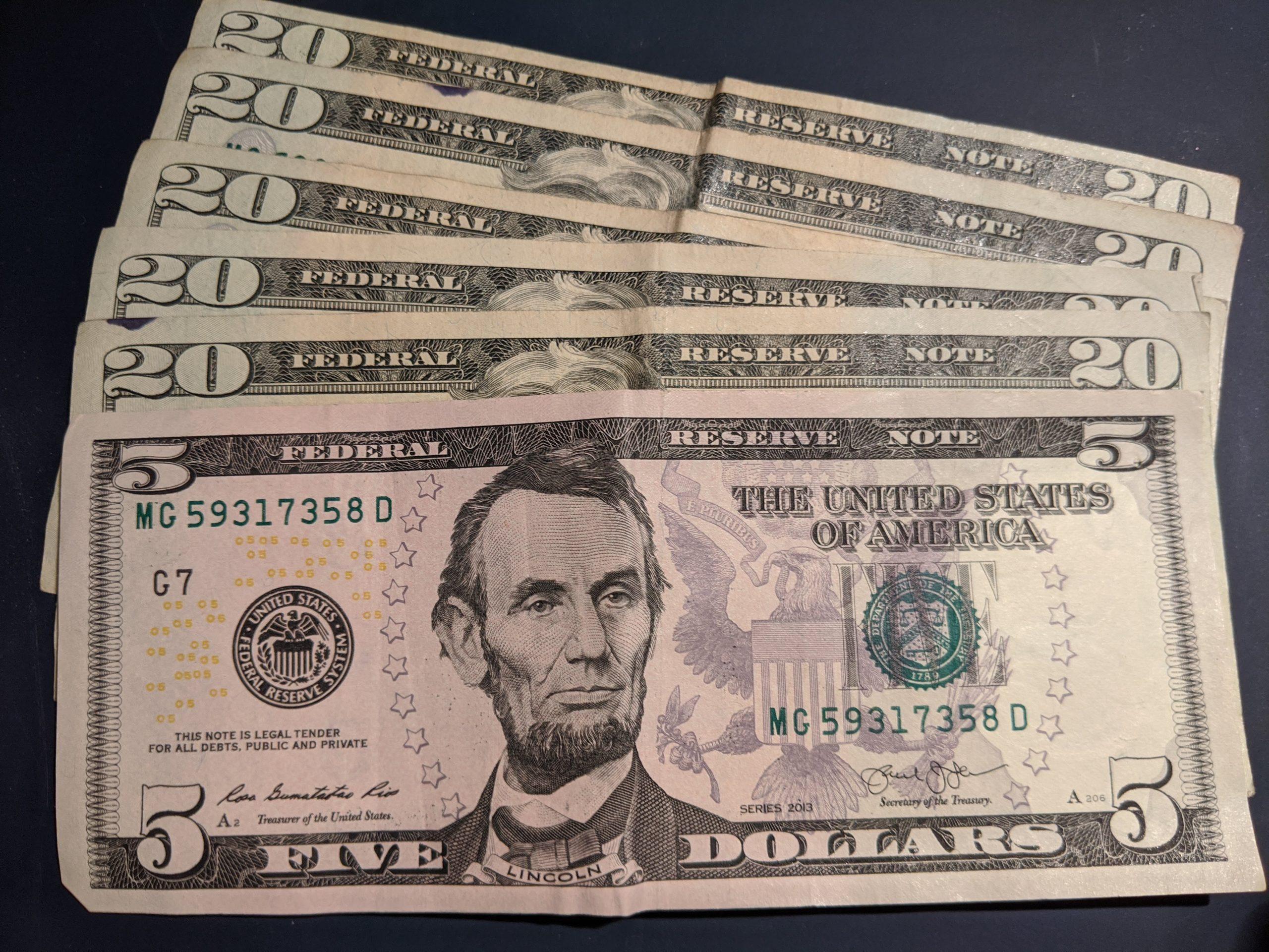 Money Closeup