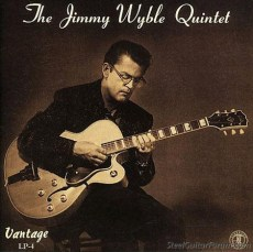 CD cover photograph Jimmy Wyble Quintet