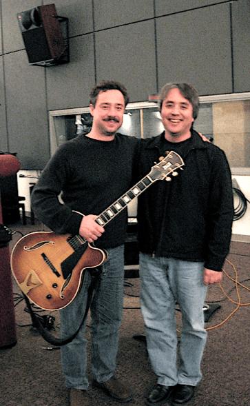 photo of Larry Koonse and George Stone