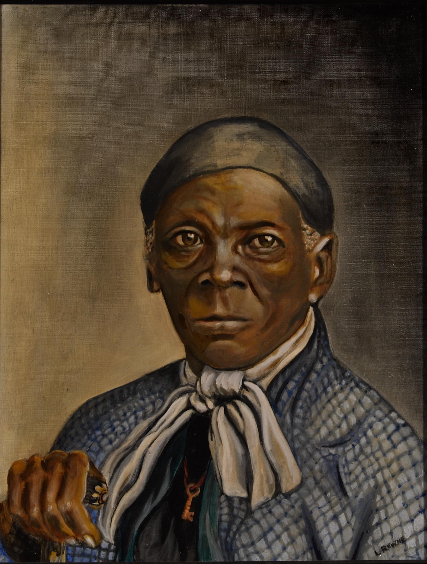 Harriet Tubman Painting 6 Of 13 Influential Women