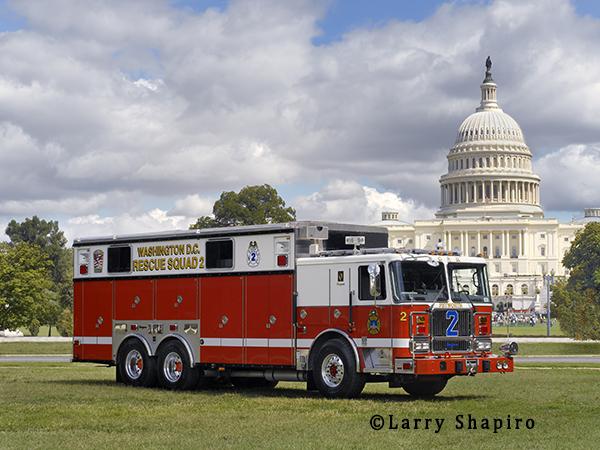Seagrave heavy rescue for Washington DC