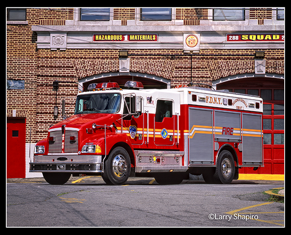 Kenworth Pierce fire truck for the FDNY