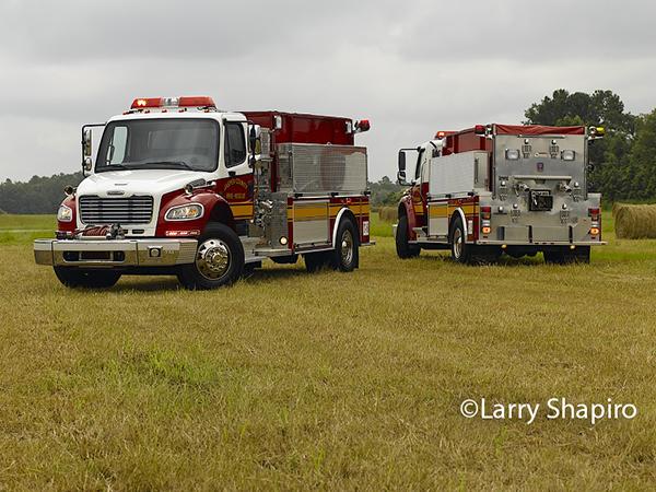 Freightliner fire truck