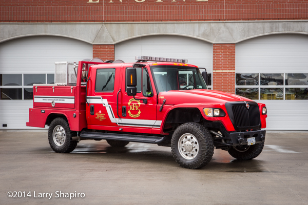 International MXT fire truck