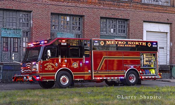 Metro North FD Rosenbauer fire truck