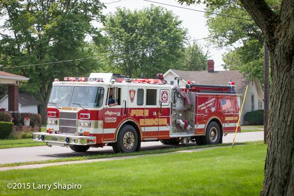 Union Township fire engine