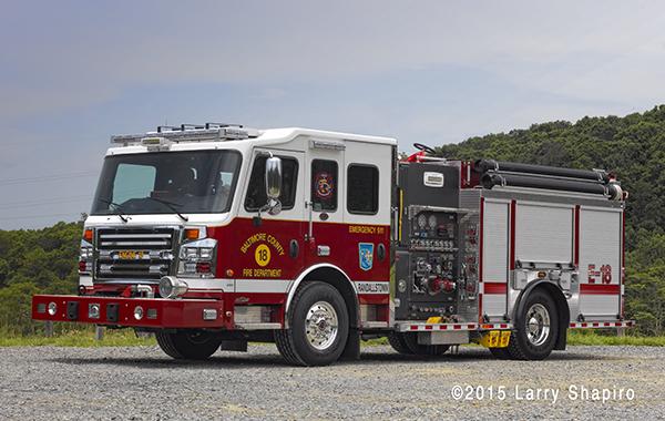 Baltimore County FD Engine 18