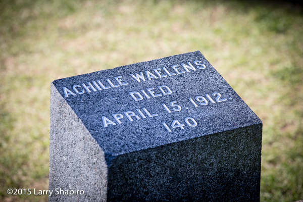 Achille Waelens perished on the RMS Titanoc