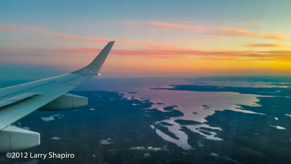 sunset over Halifax Nova Scotia