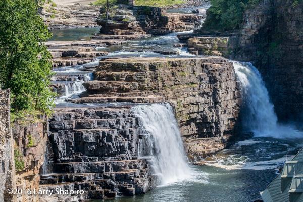 Ausable River falls