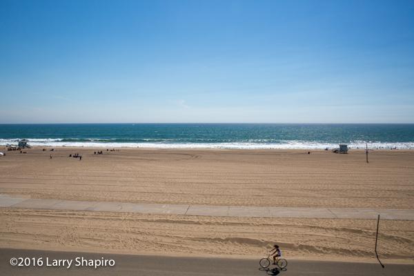 sandy beach in southern California