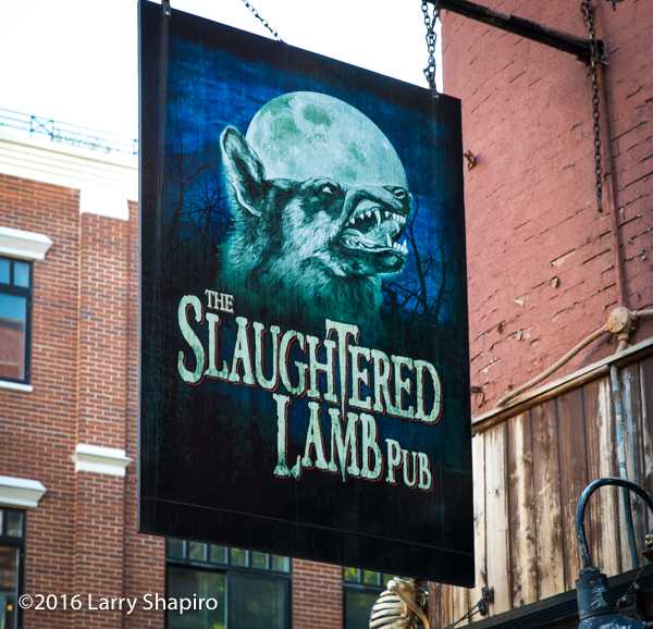 The Slaughtered Lamb Pub in the West Village of NYC