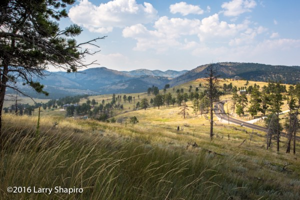 Colorado Rocky Mountain foothills and prairie