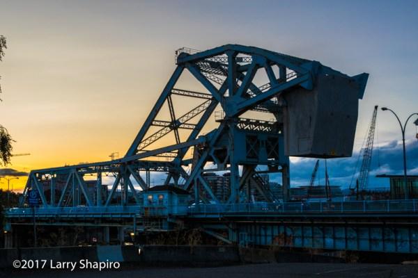 Johnson Street bridge in Victoria