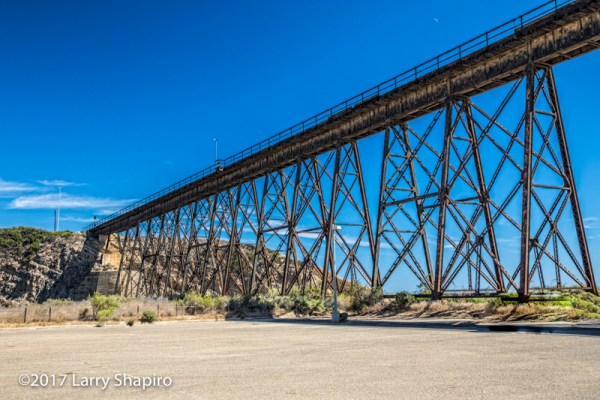 Railroad Trestle Bridge, Gaviota State Park, Goleta, CA