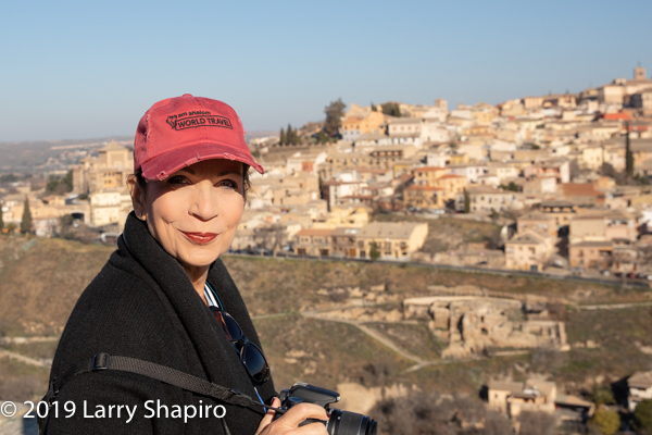 Dorothy Shapiro in Toledo Spain