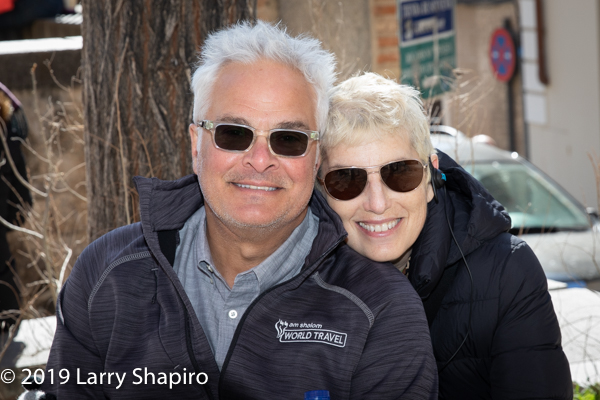 Craig and Louise Taubman in Toledo Spain