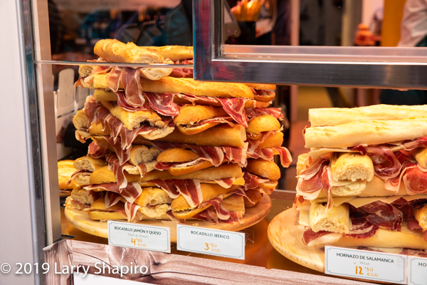 food in Toledo Spain