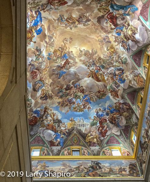 El Escorial ceiling painting