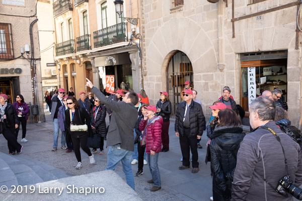 Am Shalom of Glencoe tours Spain - Day 3