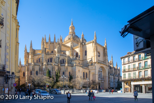 historic church in Segovia