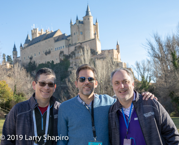 Am Shalom of Glencoe tours Spain