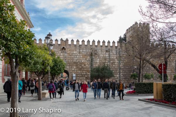 touring Seville Spain