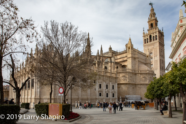 the Great Cathedral of Seville Spain