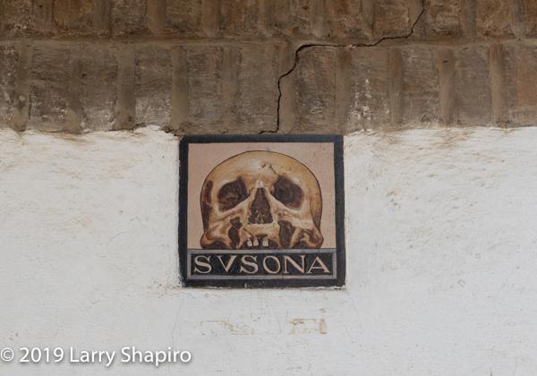Susona sign in Seville