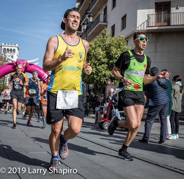 2019 Marathon in Seville Spain