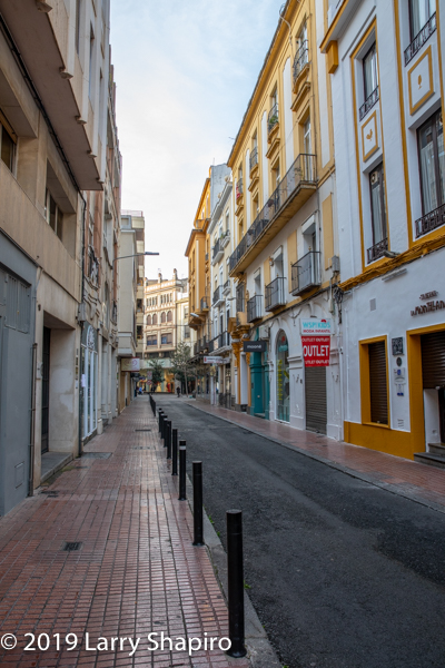 beautiful street in Cordoba